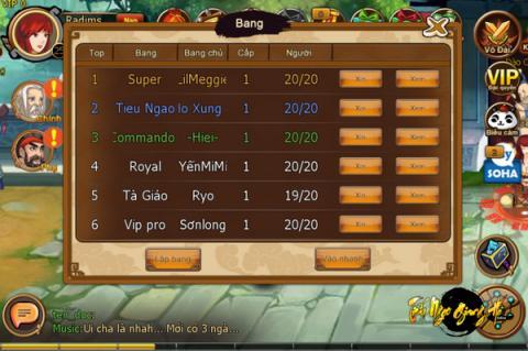 Tiếu Ngạo Giang Hồ Mobile ra mắt server mới, tặng Gift Code 3