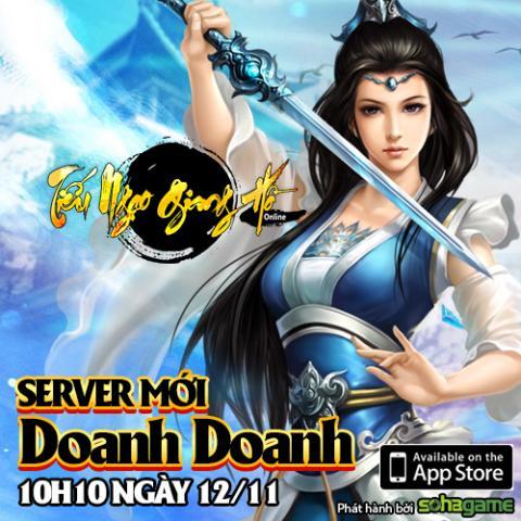 Tiếu Ngạo Giang Hồ Mobile ra mắt server mới, tặng Gift Code 5