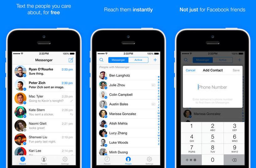 Facebook cần tối ưu hơn đồng bộ hóa dịch vụ tin nhắn Messenger của mình
