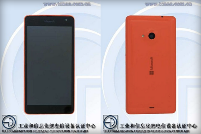 Rò rỉ hình ảnh của chiếc Lumia Microsoft đầu tiên