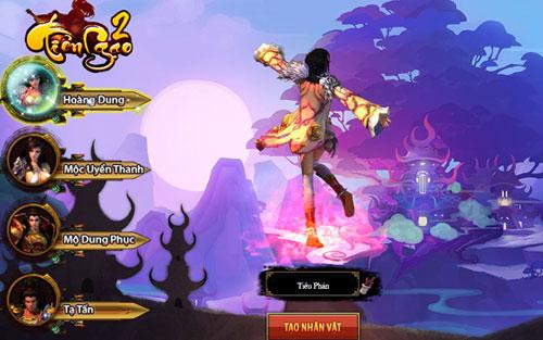 Tiên Ngạo 2 webgame miễn phí đầu tiên tại Việt Nam