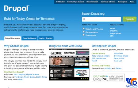 Mã nguồn Drupal là gì