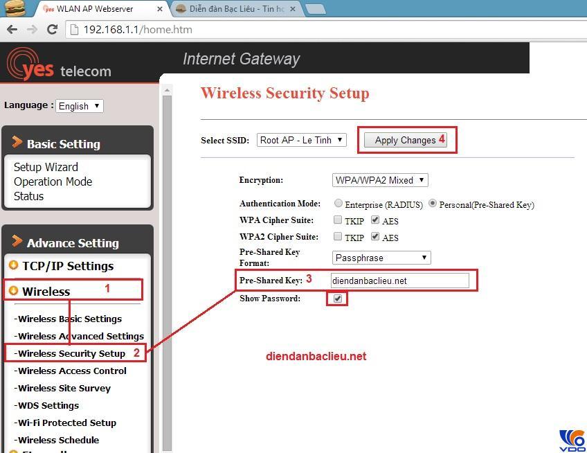 Chia sẻ cách đổi mật khẩu wifi vnpt chi tiết nhất