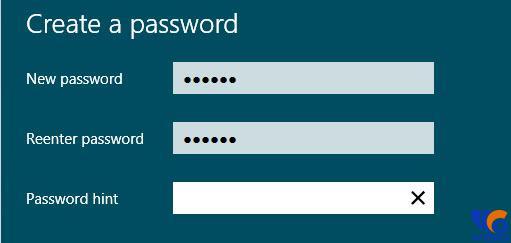 đặt mật khẩu máy tính sử dụng Win 8