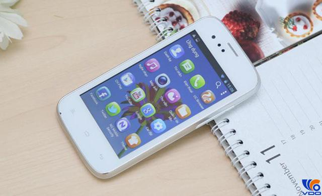 Điện thoại smartphone dưới 2 triệu - Gionee Pioneer P2
