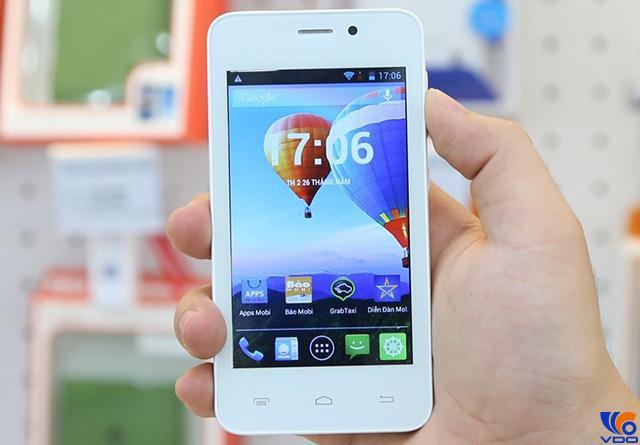 Điện thoại có giá dưới 2 triệu - Mobiistar Touch Bean 402C