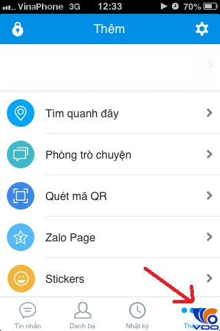 Hướng dẫn cách đổi mật khẩu - xóa tài khỏan- đăng xuất Zalo trên IOS