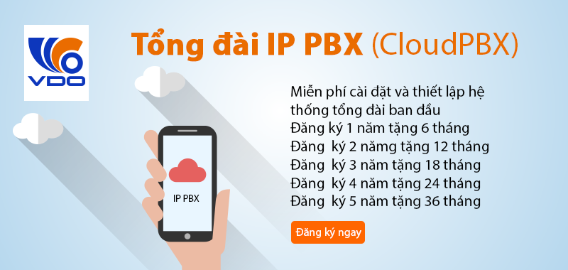 Tổng đài IP PBX (CloudPBX)