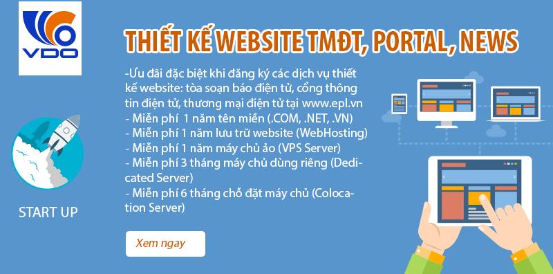 thiet ke website TMDT