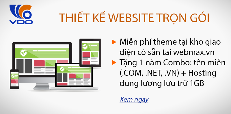 thiet ke website tron goi