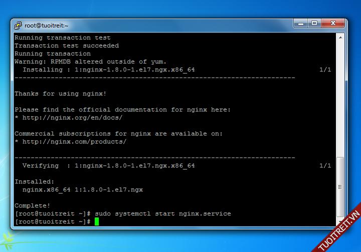 Hướng dẫn chi tiết cách cài đặt LEMP (Linux, Nginx, MariaDB, PHP) trên CentOS