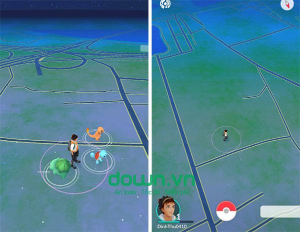 Bản đồ game pokemon go