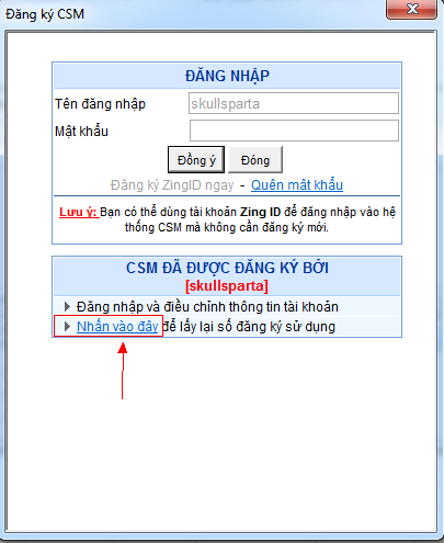 Lỗi csm server không nhận máy trạm chỉ xảy ra trên một số máy