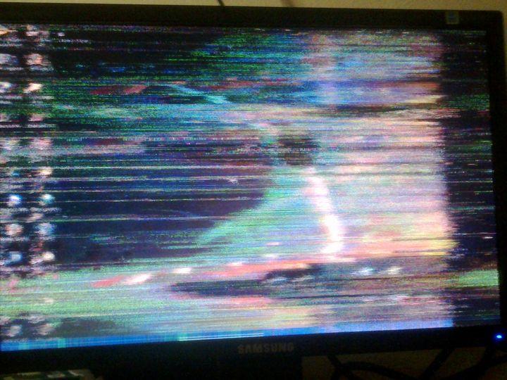 Lỗi màn hình bị hỏng card