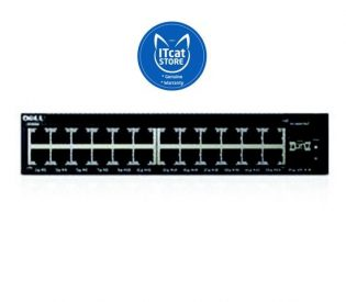 Dell Networking X1026 Smart Web Managed Switch 24x 1GbE and 2x 1GbE SFP ports