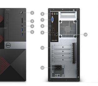 Vostro 3653 Desktop 42VT350002