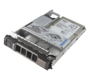 DELL 600GB 10K RPM SAS 12Gbps 2.5in Hot-plug Hard Drive,3.5in HYB CARR,CusKit