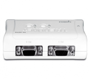 TRENDnet TK-207K 2-Port USB KVM Switch